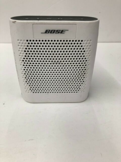 Bose SoundLink Color Bluetooth Speaker - White FOR PARTS ONLY