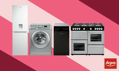 Save up to £60 on Selected Large Appliances