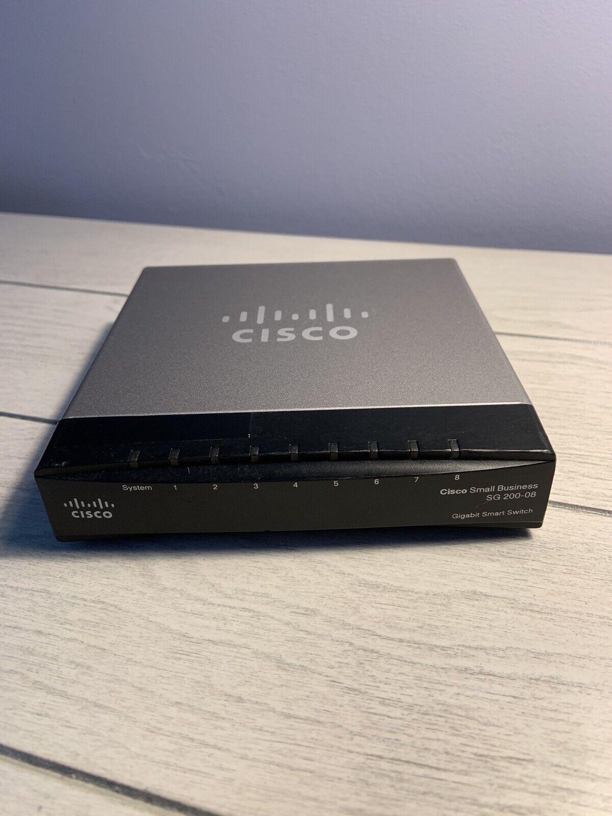 Certified Refurbished Cisco SLM2008PT-NA 8 Port Gigabit PoE Switch