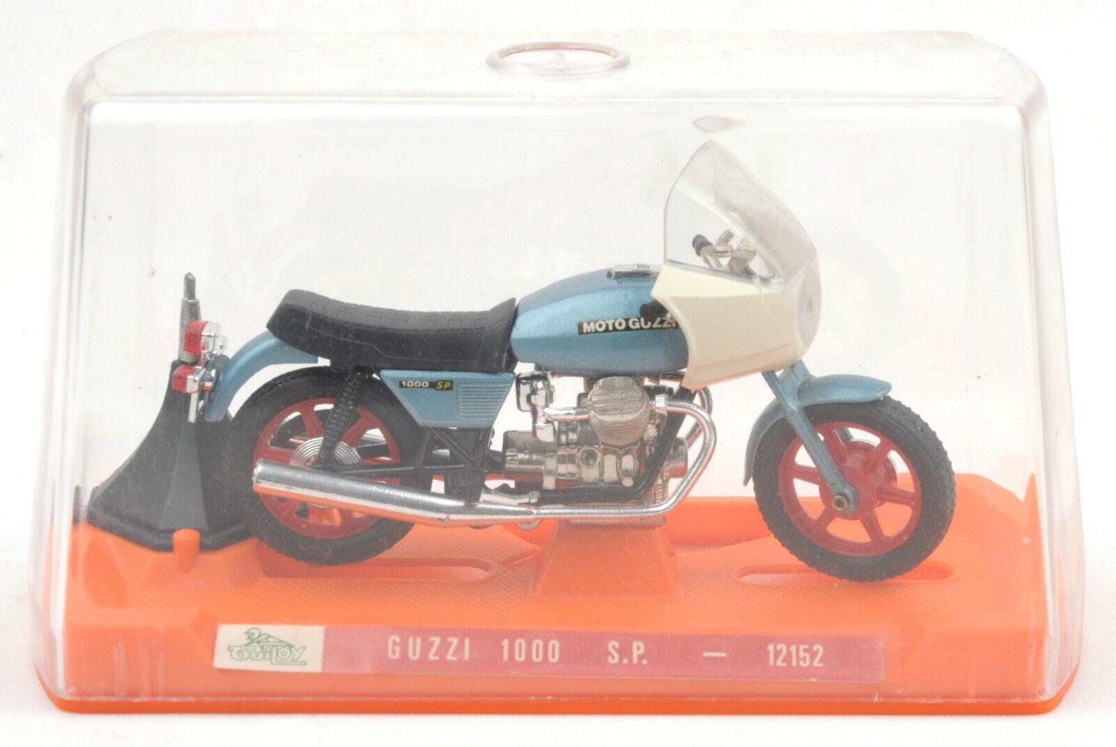 VINTAGE Guiloy (Spagna) 1 18 MOTO GUZZI 1000 S.P. Ref.12152   Nuovo di zecca con scatola