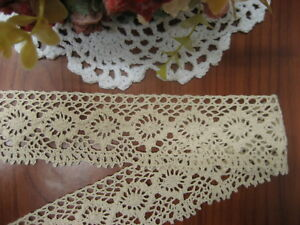 "Scalloped Stretch Lace Trim Edging 1//2/"" Red Cranberry 7 yds #R8"