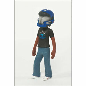 McFarlane-Toys-Action-Figure-Halo-Avatar-Series-2-BLUE-JFO-HELMET-2-5-inch