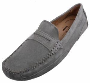 Rockport-BDG2-Penny-Mens-Graphite-Suede-Slip-On-Loafer-Shoes