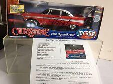 Stephen King signed autograph Christine Ertl die cast 1:18 car JSA LOA Rare Cool