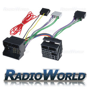 VW-Golf-Passat-Caddy-Jetta-Polo-T5-Handsfree-Parrot-Bluetooth-Adaptor-ISO-Lead