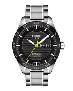 Tissot-T100-430-11-051-00-PRS-516-Automatic-Men-039-s-Watch