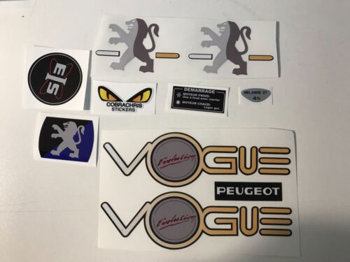 kit autocollant peugeot 103 VOGUE l/'évolution REF:MOB044