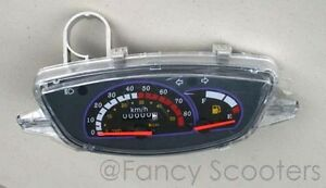 Peace-sports-TPGS-805-50cc-Odometer-Fuel-Gauges-Lights-indicator-Panel