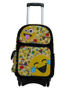 F16EM30570 EMOJI Emojination Large Custom Rolling Backpack 17