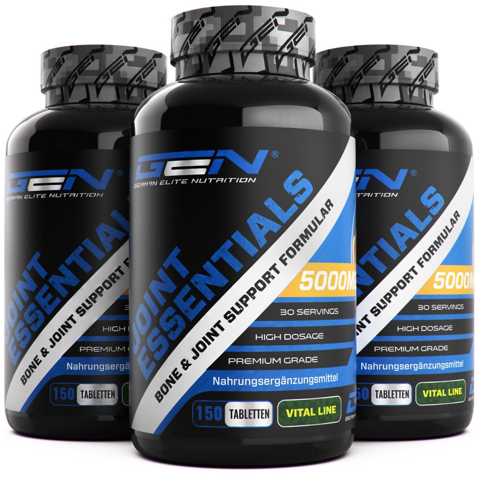 3x Joint Essentials = 450 Tabletten - Gelenk Komplex Glucosamin Chondroitin MSM