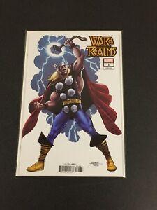 MARVEL WAR OF THE REALMS #1 GEORGE PEREZ VARIANT THOR HIDDEN GEM MARVEL COMICS