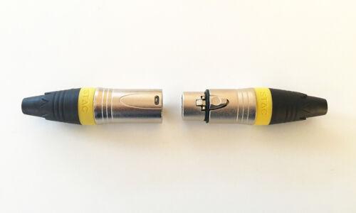 15m Mikrofon Kabel XLR DMX Kabel OFC Set mit 2 Stück je 15m lang inkl.Kabelklett