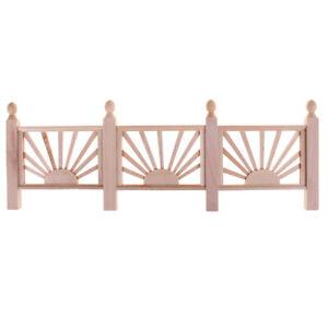 1-12-Doll-House-Miniature-Wooden-Guardrail-Balustrade-Mini-Balcony-Fe-giPT