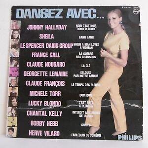 33T-DANSEZ-WITH-Vinyl-LP-12-034-HALLYDAY-SHEILA-GALL-NOUGARO-LEMAIRE-TORR-BLONDO