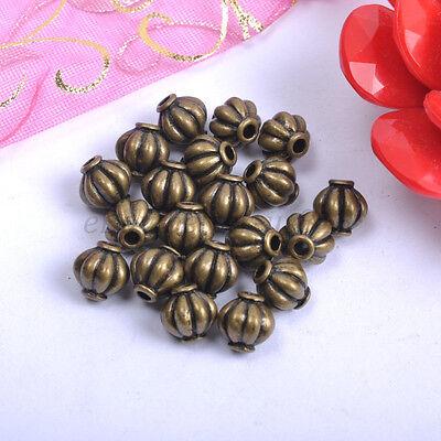 100& Tibetan Silver, Gold, Bronze, Charms Spacer Beads - Choose 4MM 6MM 8MM B117