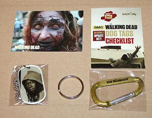 The-Walking-Dead-Michonne-Dog-Tag-amp-Sticker-Aufkleber