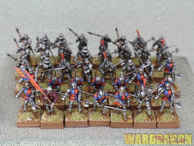 28mm  Perry Miniatures WDS painted WR 50 Foot Knights 1450-1500 j14  per offrirti un piacevole shopping online