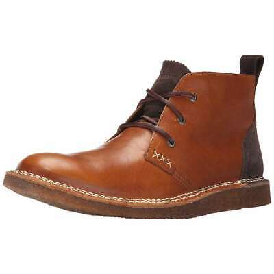 wolverine men's lionel leather chukka boot brown casual