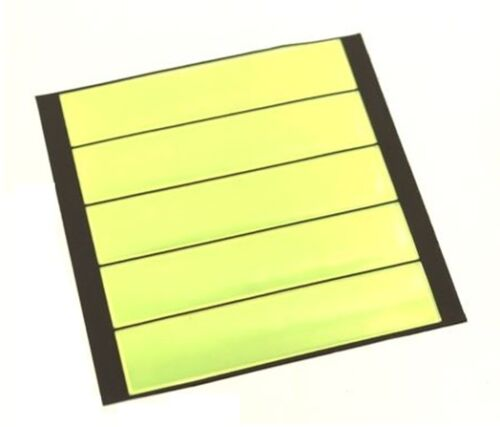 Adhesive Strip Tape Reflective reflectors 5 pieces.
