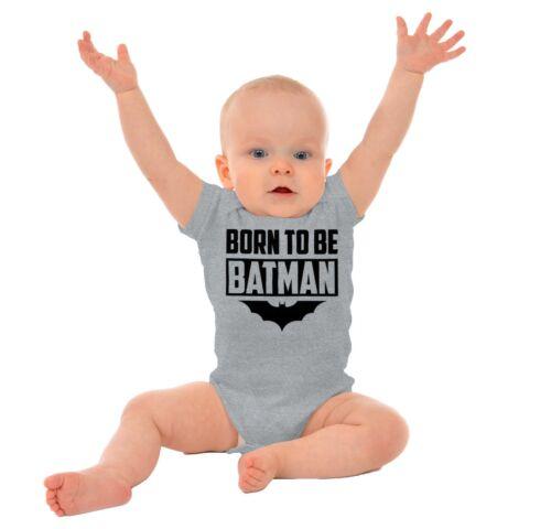 Born to Be Superhero Funny Comic Book Nerd Newborn Romper Bodysuit For Babies