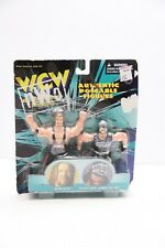 1998 WCW Ric Flair Lex Luger Authentic Poseable Figures Set of 2