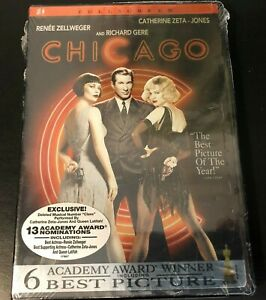 Chicago-DVD-2003-Full-Screen-Edition-NEW-Sealed-Richard-Gere