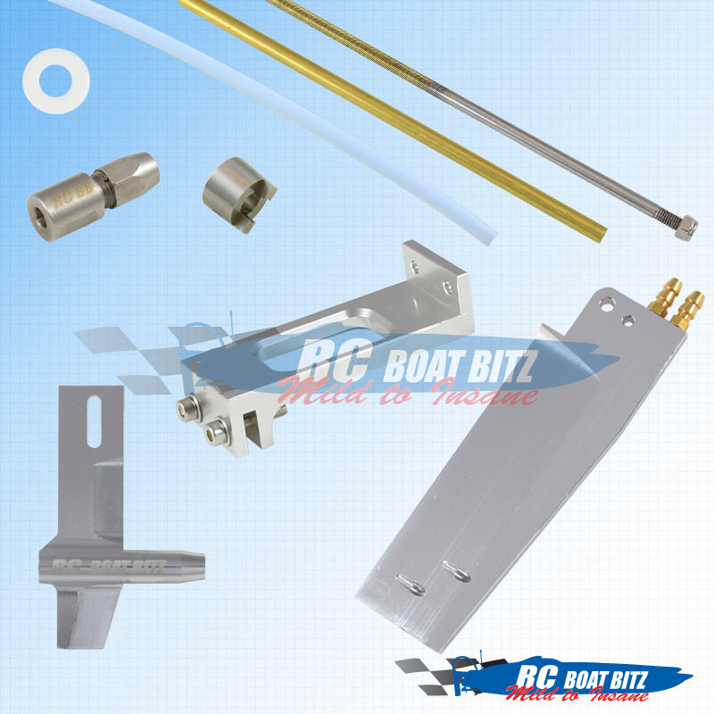 Genesis RC boat 3/16  shaft and rudder upgrade kit