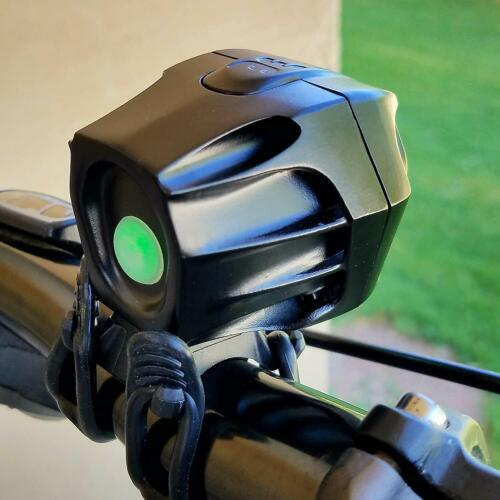 Bright Eyes 1600 Lumen Rechargeable Mountain Road Bike Headlight,Tailight