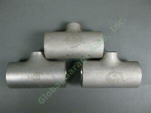 3-NEW-2-034-x2-034-x1-034-Taylor-Forge-SS-316W-Stainless-Steel-Butt-Weld-Reducing-Tee-10S