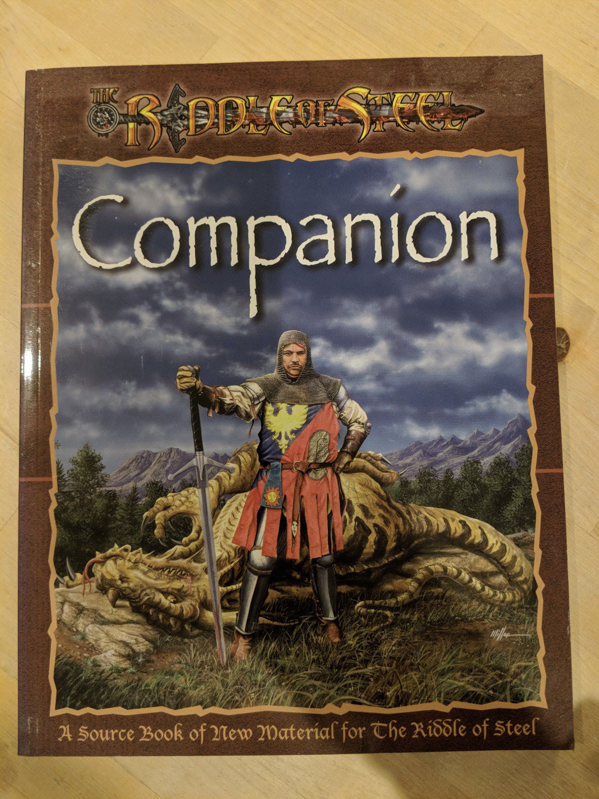 Riddle of Steel Companion by Driftwood Publishing DFW DFW DFW 1003 e8d8bb