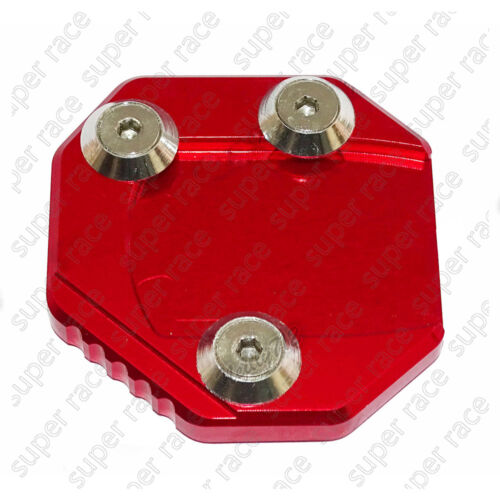 5 Color CNC Side Stand Kickstand Enlarge Plate Pad For SUZUKI GSR750 2011-2015