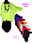 Lagenlook-Long-Kasten-Basic-Shirt-Tunika-Jersey-7-Farben-46-48-50-52-54-56-58-60 Indexbild 1