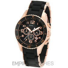 *NEW* MARC JACOBS LADIES MARINE ROCK ROSE GOLD WATCH - MBM2553 - RRP £329
