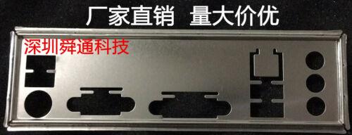 IO I//O Shield Back Plate BackPlate Blende Bracket for Gigabyte GA-H81M-DS2V RE