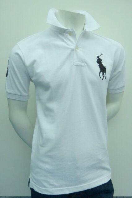 Ralph Lauren Men's shirt BIG PONY WHITE color - Classic Fit **NEW** NWT