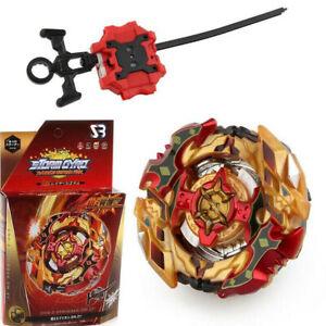 Beyblade Burst Set Starter Set Toy Bayblade Top With Grip Launcher Kid Gift UK