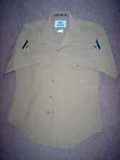 "USMC US Marine Corps Short Sleeve Khaki Service ""C"" Shirt DSCP 16 L/Cpl"