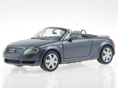 Audi TT Roadster 8N 2000 grau Modellauto 430017235 Minichamps 1:43