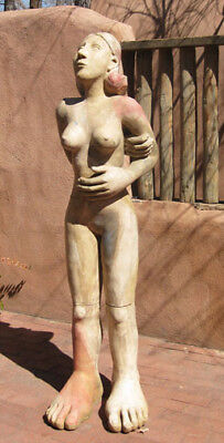 Mavis McClure ceramic clay figure sculpture - Bay Area sculptor - Arneson, Frey