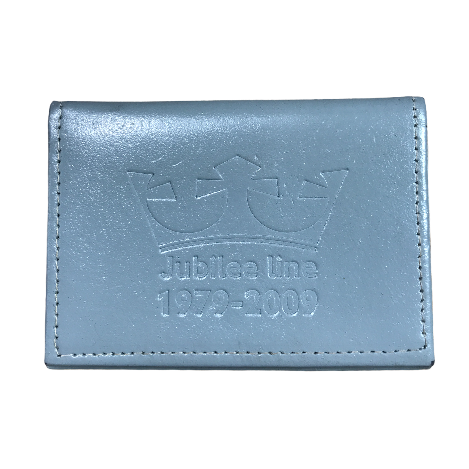 Jubilee Line 1979-2009 Commemorative Train Ticket Travel Card Holder Collectible