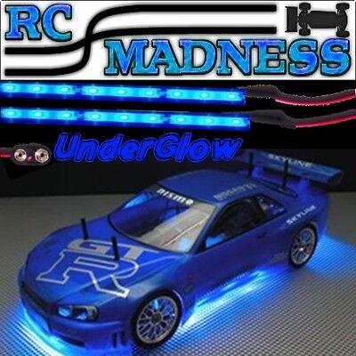 RC Car Under Glow Neon Truck Under Glow Body LED Lighting KIT Blue Nitro lights