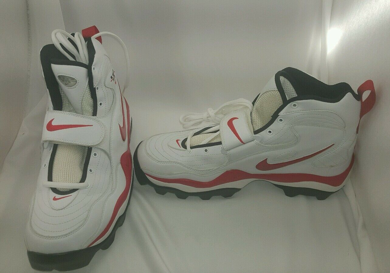 Nike Zoom Air Men's shoes Cleats Athletic High Top Football Soccer Size 15