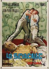 L'AINE DES FERCHAUX Italian 2F movie poster 39x55 JEAN-PAUL BELMONDO MELVILLE