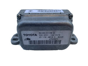 2005-2007 TOYOTA SEQUOIA STABILITY YAW RATE SENSOR MODULE 89183-0C030-A