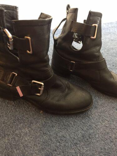 pelle in caviglia donna da Zara alla con scarpe cinturino wFqHaZ7