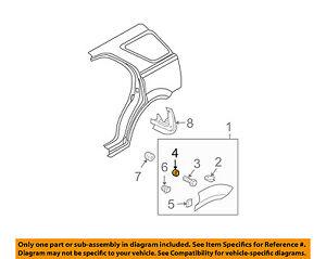 KIA-OEM-03-09-Sorento-Fender-Wheel-Flare-Spacer-877143E000