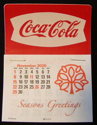 2021 Coca-Cola™ Fishtail Peel /& Stick 14 Month Dash Calendar NO PRICE INCREASE!