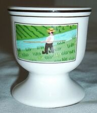 Villeroy & and Boch DESIGN NAIF LAPLAU egg cup FISHERMAN & HAMLET