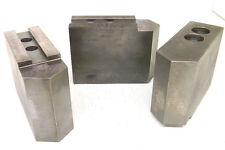 3 Used Us Shop Tools Extra High Pointed Soft Jaws Kt 12400 116 X 90 Serrated