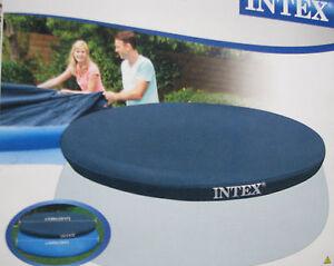 INTEX-Easy-Pool-Abdeckplane-fuer-Quick-Up-Pool-457-cm-Plane-Schwimmbad-Abdeckung